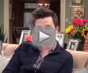 Chris Colfer Teases Dramatic Glee Finale, Looks Ahead to Season 6