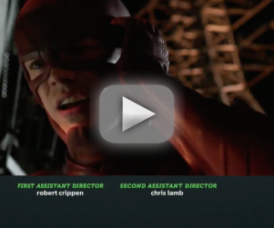 The Flash Teaser: Slowing Down, Dodging Arrow