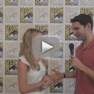 TV Fanatic at Comic-Con: Britt Robertson Talks Secret Circle