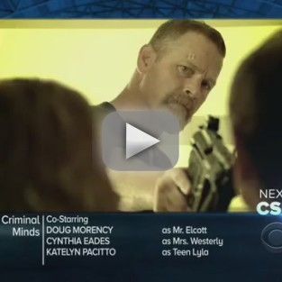 Criminal Minds Sneak Preview: Tracking a Parent Killer?