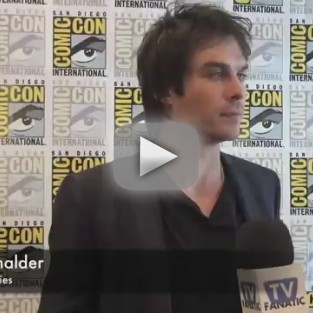 Ian Somerhalder Speaks on Animal Sanctuary, Foundation Goals