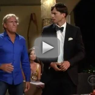 Two and a Half Men Season Premiere Promo: Michael Bolton Big!