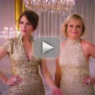 Golden Globe Awards Promo: Tina Fey and Amy Poehler Get Classy