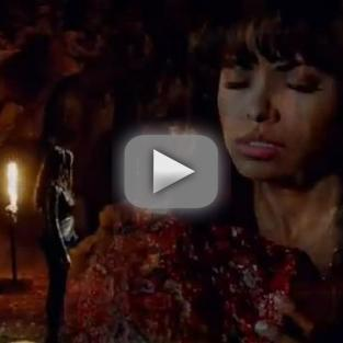 The Vampire Diaries Sneak Preview: Feeding & Frightening