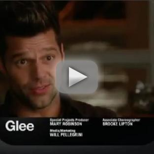 Glee Sneak Preview: Welcome, Ricky Martin!