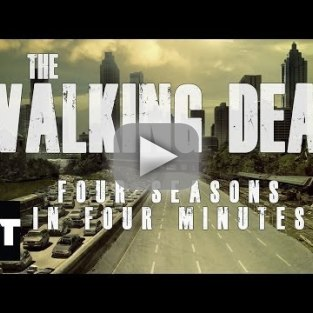 The Walking Dead: 4 Seasons, 4 Minutes, Lots of Violence