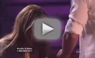 Dancing With the Stars Clip - Maks and Kirstie Fall