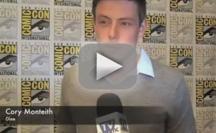 Cory Monteith Comic-Con Interview