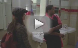 Glee Clip: Bathroom Bashing