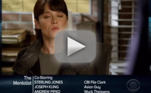 "The Mentalist Promo: ""At First Blush"""