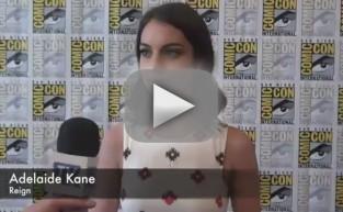 Adelaide Kane Comic-Con Interview