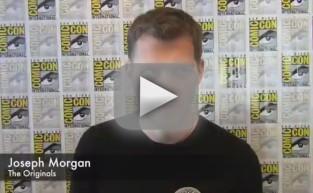 Joseph Morgan Comic-Con Q&A