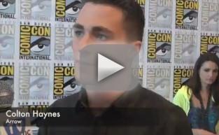 Colton Haynes Comic-Con Q&A