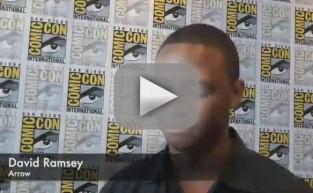 David Ramsey Comic-Con Q&A