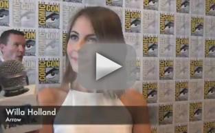 Willa Holland Comic-Con Q&A