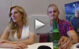 Alexander Ludwig and Katheryn Winnick Interview