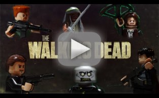 The Walking Dead Season 5 Teaser: Lego Style!