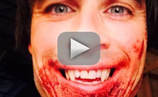 Ian Somerhalder Posts Bloody Damon Pic