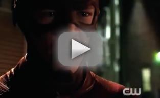 Flash vs. Arrow Promo