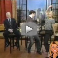 Michael Urie on Kelly Ripa