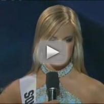 Aimee Teegarden Questions Miss Teen South Carolina!