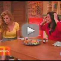 Connie Britton on Rachael Ray