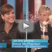 Ellen DeGeneres Asks About Private Practice