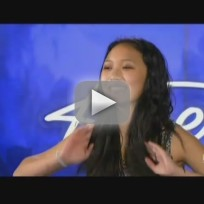Thia Megia on American Idol
