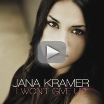 Jana Kramer - I Won't Give Up