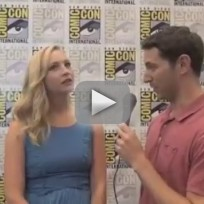 Candice accola comic con interview