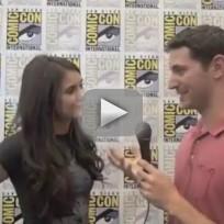 Nina Dobrev Comic-Con Interview