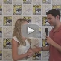 Brittany robertson comic con interview