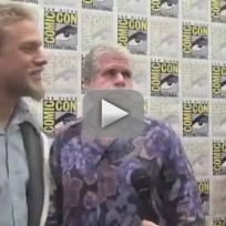 Charlie Hunnam and Ron Perlman Interview