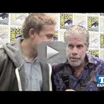 Ron Pearlman and Charlie Hunnam are TV Fanatics!