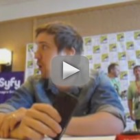 Sam Huntington at Comic Con