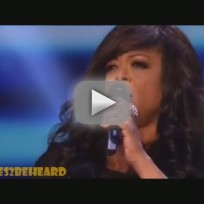 Stacy Francis X Factor Audition