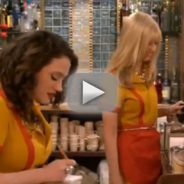 2 broke girls promo and the 90s horse party