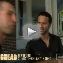The Walking Dead Clip: Rick vs. Shane