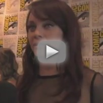 Melinda Clarke at Comic-Con