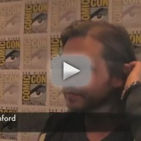 Aaron Stanford at Comic-Con