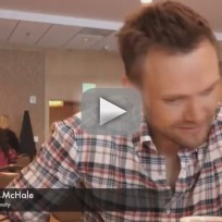 Joel McHale at Comic-Con