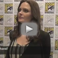 Emily deschanel comic con interview 2012