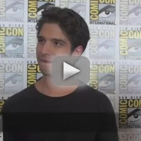 Tyler posey comic con interview