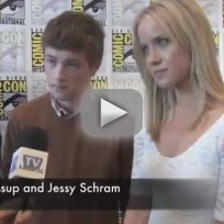 Connor Jessup and Jessy Schram Comic-Con Interview