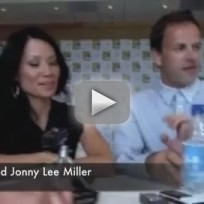 Lucy Liu and Jonny Lee Miller Interview