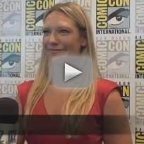 Anna Torv Comic-Con Interview