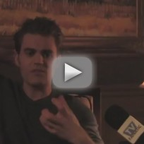 Paul Wesley Interview: Elena's Choice and More