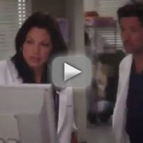 Greys anatomy season 9 premiere clip derek and callie