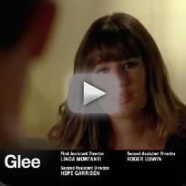 Glee promo the break up