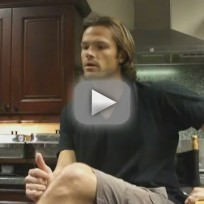 Jared Padalecki Set Visit Interview